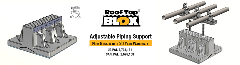 Adjustable Piping Support