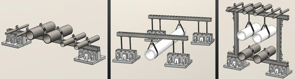 HVAC Roof Support Systems